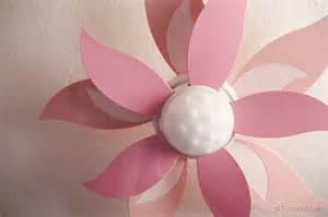 Girls Ceiling Fan With Chandelier New Flower Ceiling Fan