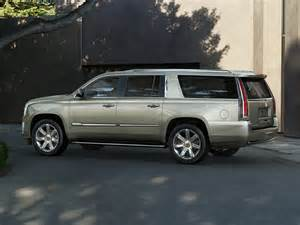 Escalade Cadillac 2015 2015 Cadillac Escalade Esv Price Photos Reviews Features