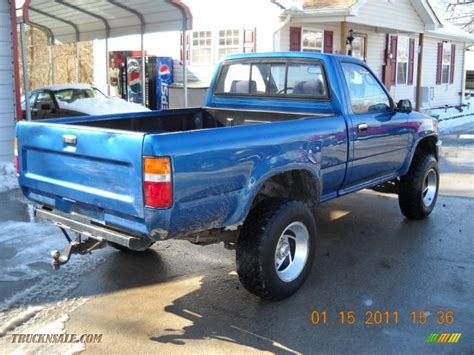 1993 Toyota 4x4 1993 Toyota Deluxe Regular Cab 4x4 In Blue Pearl