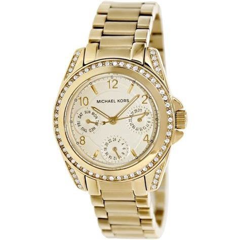 Mk5639 Michael Kors Blair Gold Tone Stainless Steel michael kors s mk5639 blair gold tone