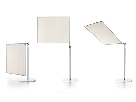 Small Desk L With Shade Sunshade Ecran By Borella Design Design Xavier Lust