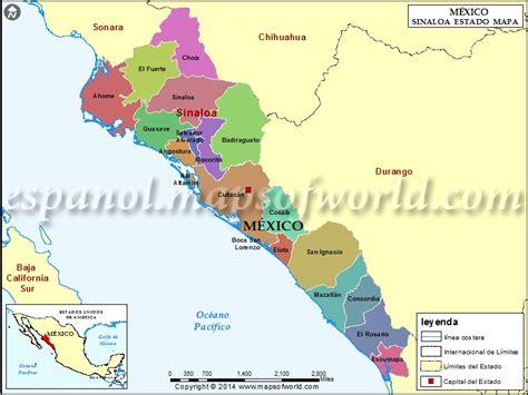 mapa de guasave sinaloa mapa de sinaloa mexico