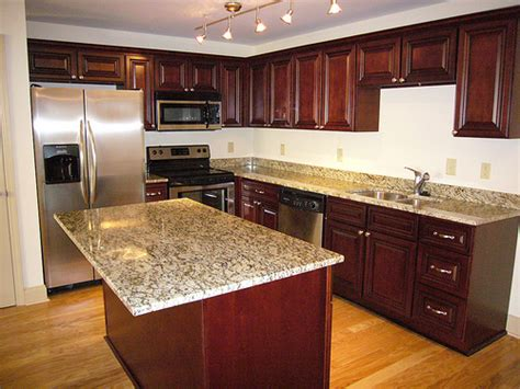 cherry cabinets with granite countertops cherry cabinets