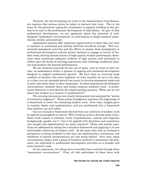 implication section of research paper part four implications for teaching and teacher education