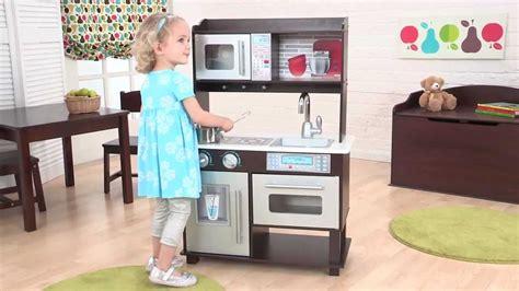 Espresso Play Kitchen Sets kidkraft quot wooden quot espresso toddler kitchen item 53272