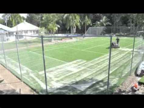 how much to build a tennis court in backyard tennis court build youtube