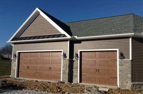 9x9 Garage Door by Carriage Doors Sted Steel Mount Garage Doors