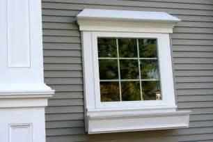 Decorative exterior window trim ideas cellular pvc trim the durable