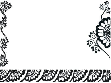 doodle flower border meoww s musings flower borders and doodles