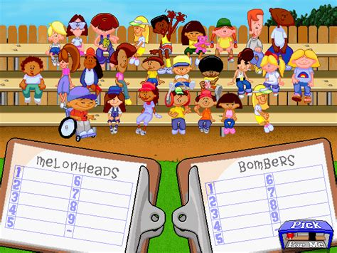 Best Backyard Baseball Team by Backyard Baseball Screenshots For Windows Mobygames