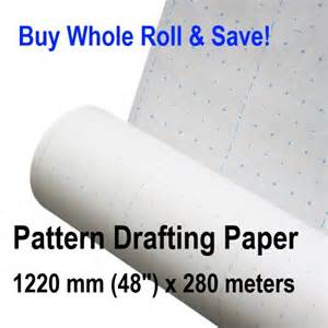 pattern drafting paper roll patternmaking paper whole roll pattern making drafting