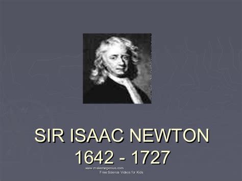 isaac newton biography for students newton life