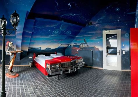 car part home decor 15 most awesome themed hotel rooms part 2 of 3 trip sense