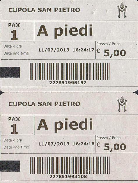 biglietti cupola san pietro the traveler s drawer vaticano cupola di san pietro