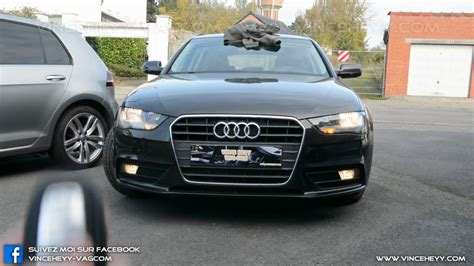 Audi A4 B8 Facelift by Audi A4 B8 Facelift Fog Light Low Beam During