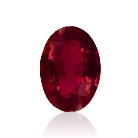 0.86 carat, Red, Ruby, Oval Shape, SKU 172540