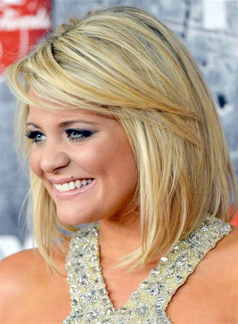swing bob with side swept bangs swing bobs with long layers hairstylegalleries com