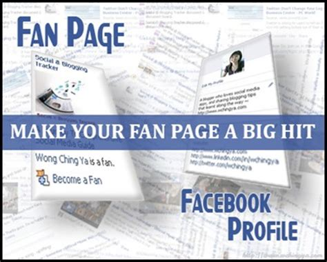 hit it rich fan page 5 things you must do to make your facebook fan page a big
