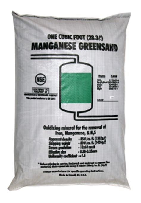 Cartridge Manganese Greensand Plus manganese greensand
