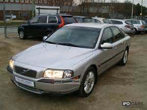 2002 Volvo S80 2002 Volvo S80 2 4t Car Photo And Specs