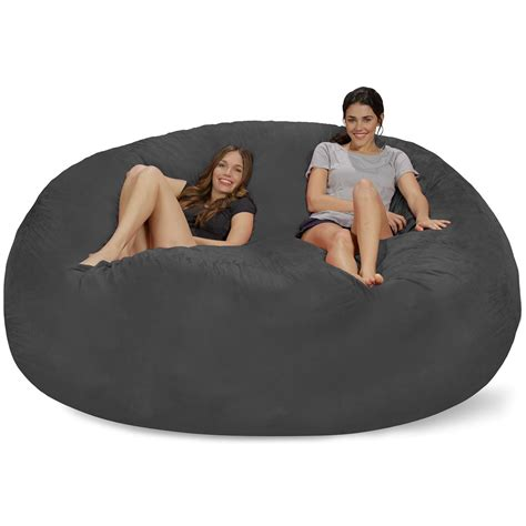 How To Fill Bean Bag Chair by 8 Jumbo Bean Bag Chair For Comfortable Seating Home