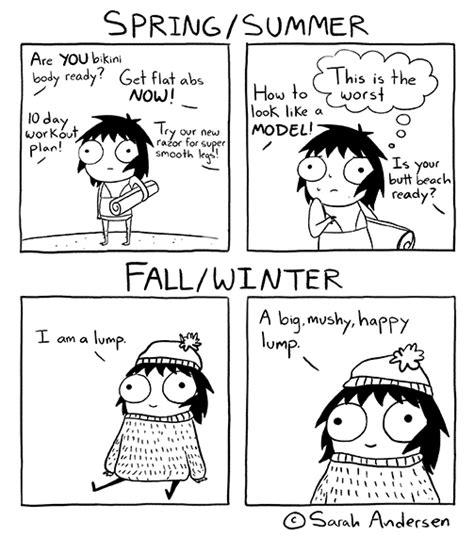 big mushy happy lump i am a lump a big mushy happy lump in seasonal comic by sarah andersen