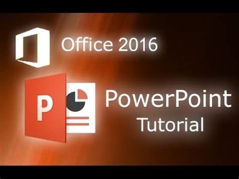 tutorial powerpoint to video microsoft powerpoint 2016 full tutorial for beginners