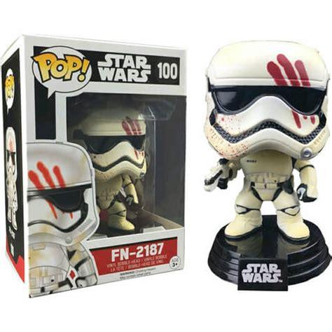 Hasbro Wars Episode Vii Finn Fn 2187 B6214 wars episode vii fn 2187 pop vinyl bobble figure merchandise zavvi