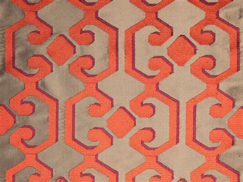 graphic patterned velvet fabric velvet fabric with graphic pattern for curtains flourish