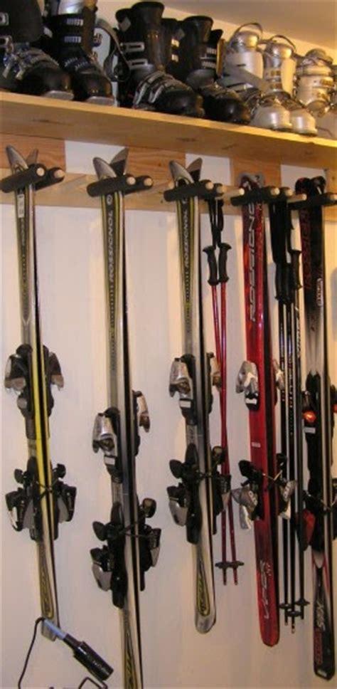 Garage Ski Storage Ideas Greengate Ranch Remodel And Ski Rack For The