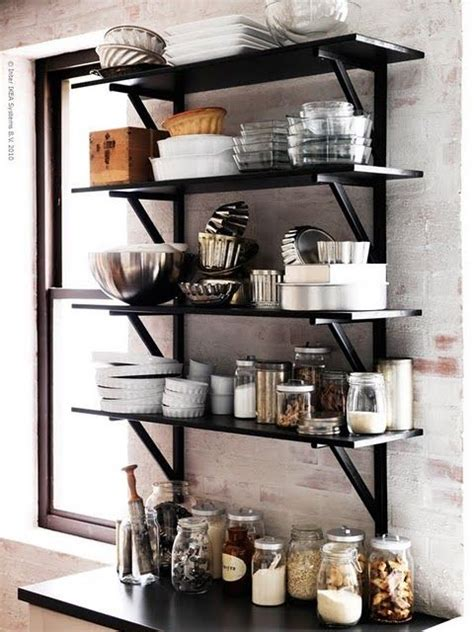 ikea kitchen shelves ikea shelves for open kitchen love kitchen pinterest
