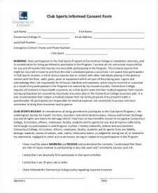 sample informed consent forms 11 free documents in word