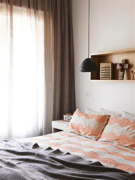 recessed bedroom shelf
