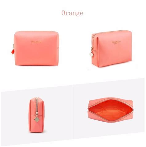 Mini Cosmetic Pouch fashion small cosmetic bags set waterproof makeup bags set touch up kit mini makeup pouch black