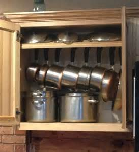Pot Pan Storage Pots And Pans Storage Home Decorating