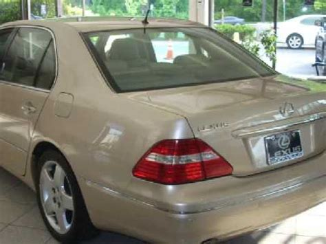 where to buy car manuals 2005 lexus ls auto manual used 2005 lexus ls 430 rockville md 20855 youtube