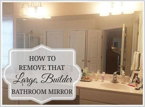 how to strip a bathroom how to remove a bathroom mirror remove a bathroom mirror