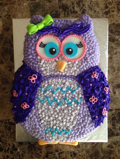 Owl Decorations For Birthday by Best 25 Owl Cakes Ideas On Owl Birthday Cakes