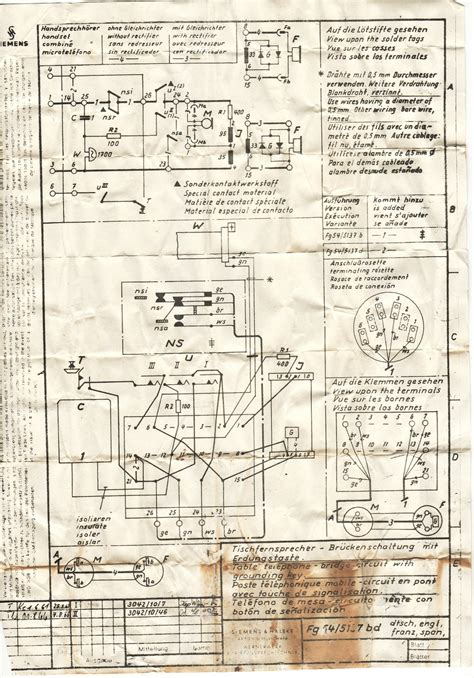 wiring diagram for siemens rotary phone 39 wiring