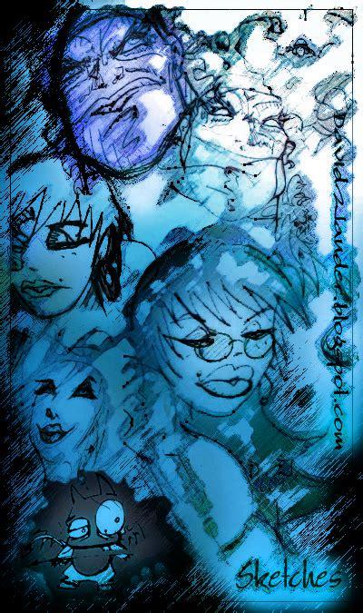 blue sketch blue sketch by davidwander on deviantart
