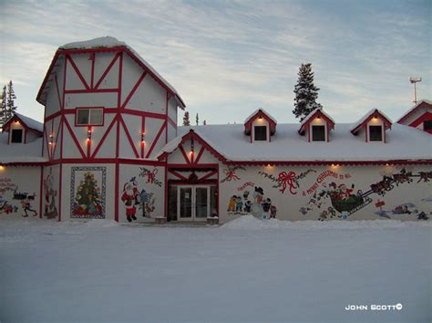 santa claus house photo 001 santa claus house in north pole the scott s