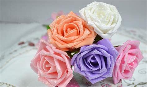 c 243 mo hacer flores de goma eva paso a paso bloghogar com plantillas para hacer rosas de goma eva c 243 mo hacer