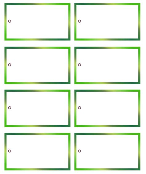 Free Printable Blank Gift Tag Template 106503 Gift Tags Templates Free
