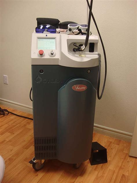 candela laser candela v beam for sale aesthetics inc