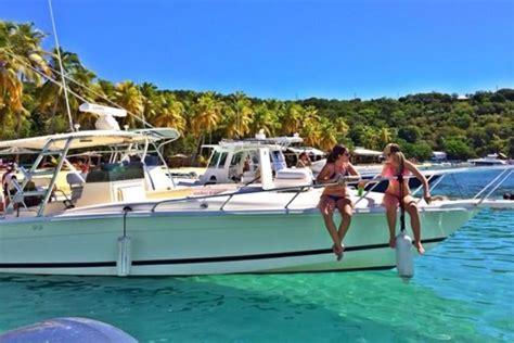 virgin boat drinks rent a marlin 350 sf 35 motorboat in red hook vi on sailo