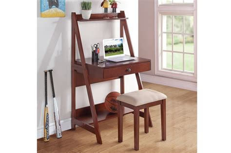 Writing Desk With Stool by Valora Writing Desk With Stool A Sofa Furniture