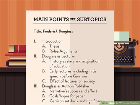 How Do You Make An Outline For A Research Paper - how to write an outline with free sle outlines wikihow