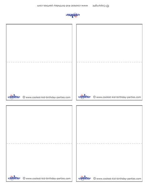 amscan invitation templates amscan templates place cards 28 images printable place