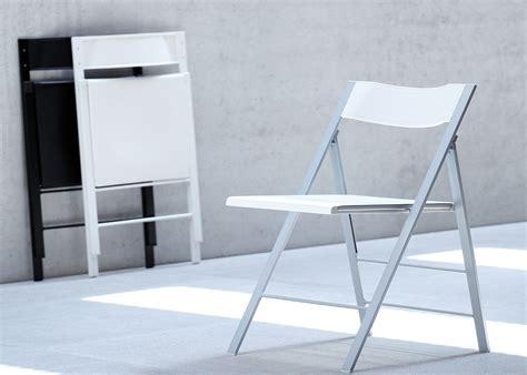 chaises pliantes design chaise pliante design ou blanche pour bureau chez