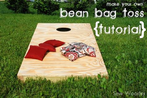 diy bean bag toss diy bean bag toss crafts diy